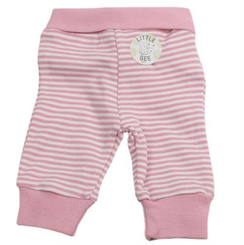 4d3af38ccd6c Fixoni præmatur økologisk bukser stribet lyserød og hvid
