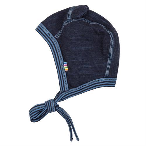 99fd4d9ddc3 JOHA hue uld blå stribet kant, 37cm, 41 cm, 45 cm