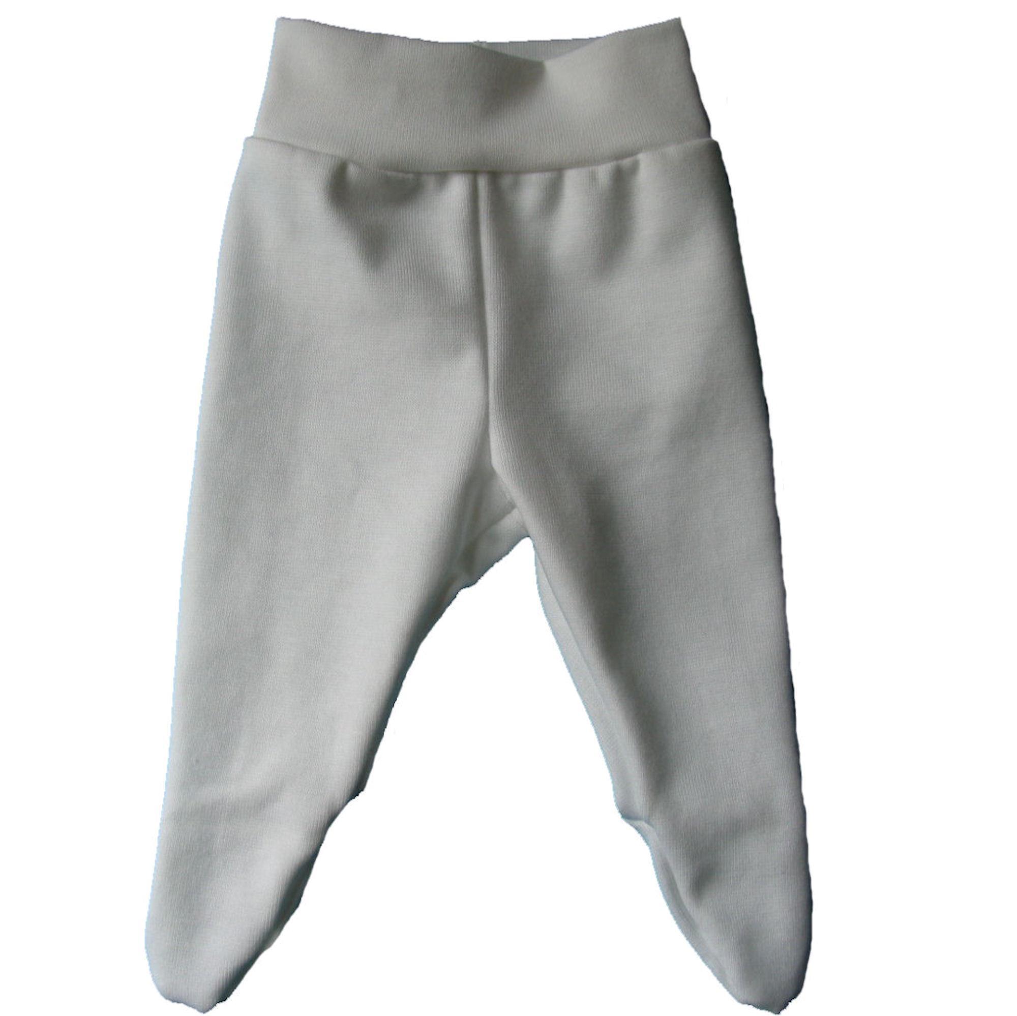 LT design præmatur bukser med fødder hvid str. 38, 44