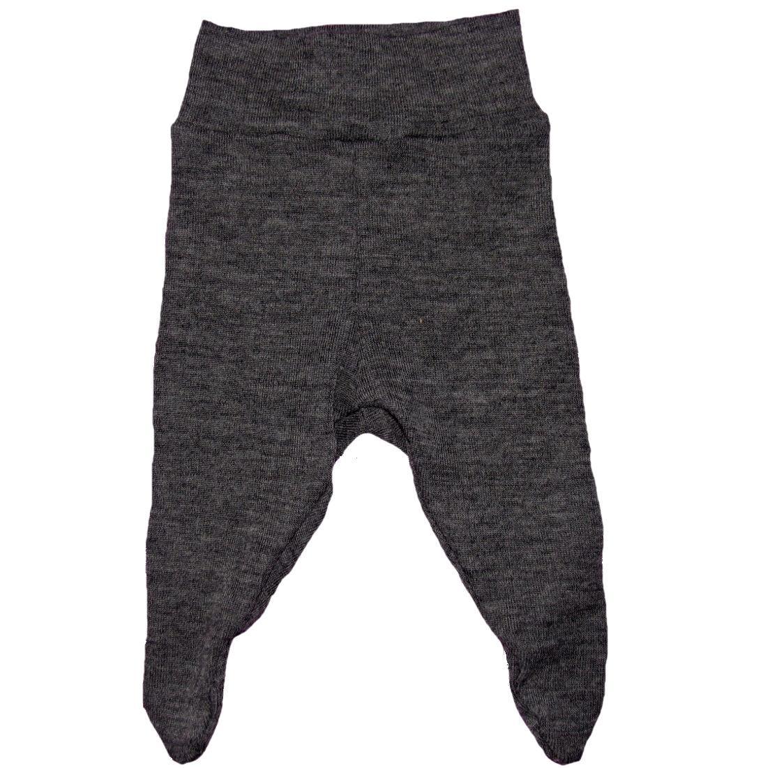 LT design præmatur bukser med fødder uld koksgrå str. 38, 44